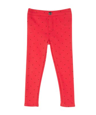 Mothercare Stellar Dancer Red Spot Jeggings