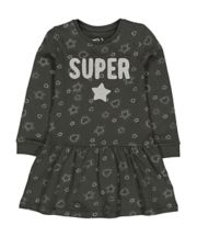 Super Star Drop-Waist Dress