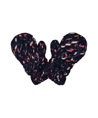 Mothercare Navy Ribbon Mittens