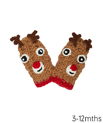 Mothercare Reindeer Converter Gloves