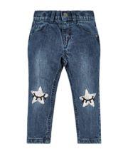 Sequin Star Boyfriend Jeans