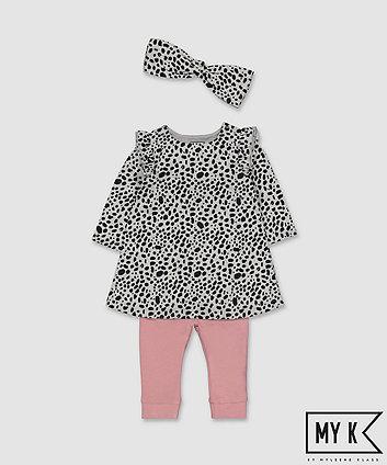 Mothercare My K Dress, Leggings And Headband Set