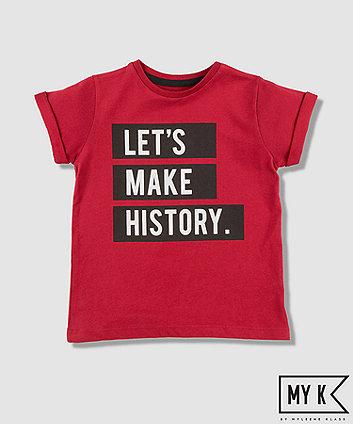 Mothercare My K Let'S Make History T-Shirt