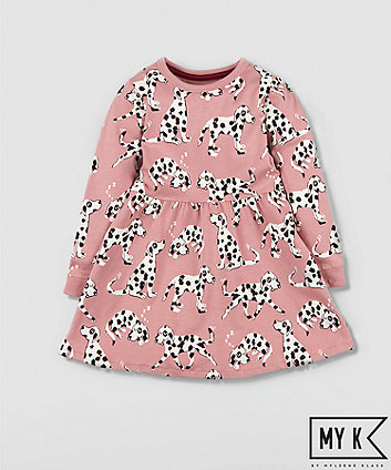 Mothercare My K Pink Dalmatian Dress