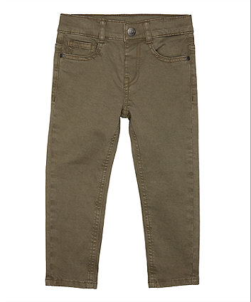 Mothercare Khaki Trousers