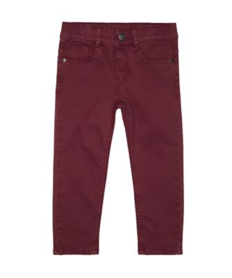 Mothercare Rascals Burgundy Trousers