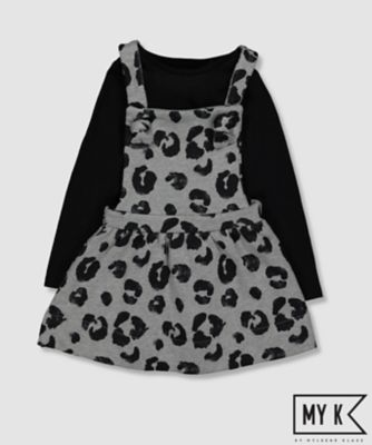 Mothercare My K Grey Leopard Dress