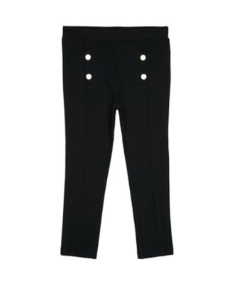 Mothercare Little Rascals Black Ponte Trousers