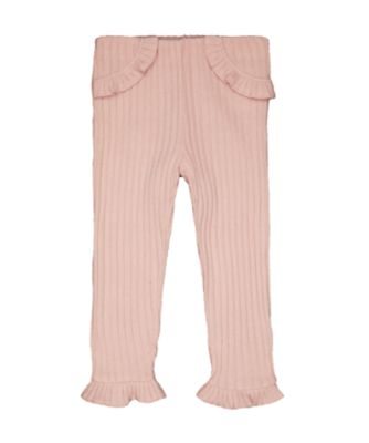 Mothercare Winter Garden Pink Ribbed Leggings