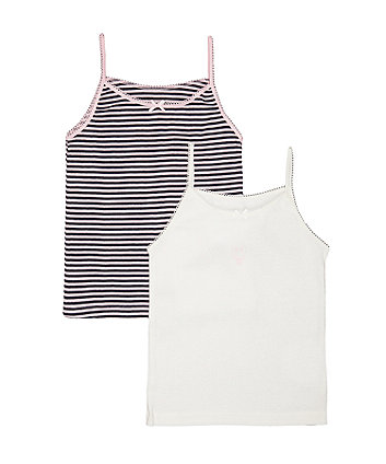 Space Bunny Cami Vests - 2 Pack