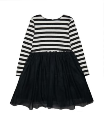 Mothercare Little Rascals Stripe And Black Dress