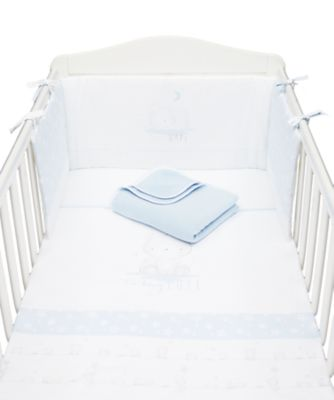 Mothercare My First Bed in a Bag - Blue 4pc