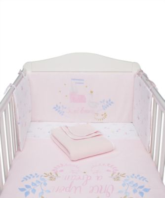 Mothercare Once Upon a Time Bed in a Bag - Pink 4pc