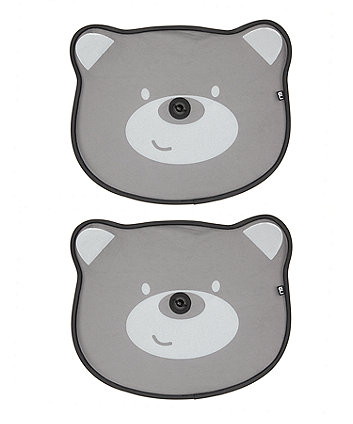Mothercare Pop-Up Bear Sunshades - 2 Pack