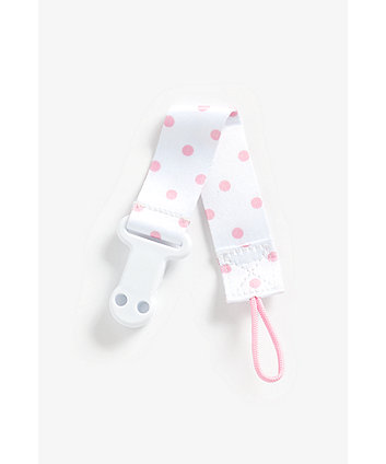 Mothercare Soother Holder - Pink