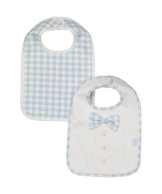 Mothercare Bow Tie Newborn Bibs - 2 Pack