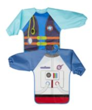 Mothercare Diver And Astronaut Dress Up Coverall Bibs - 2 Pack