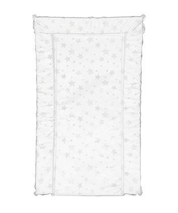 Mothercare  Changing Mat - Grey Stars
