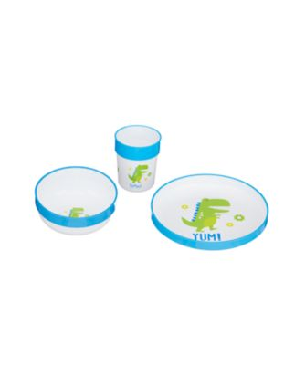 Mothercare Three-Piece Feeding Set - Dinosaur