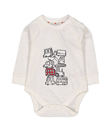 Mothercare Vehicle Bodysuit
