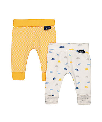 Mothercare Dinosaur And Striped Joggers