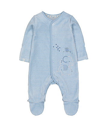 Mothercare My First Elephant Velour All In One
