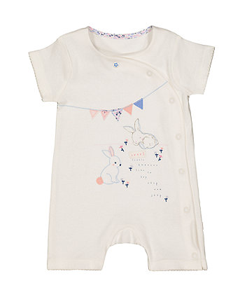 Mothercare Sweet Little Bunny Rompers