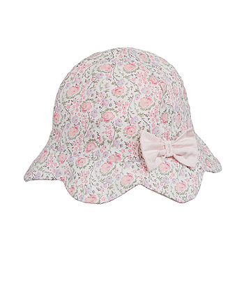 Mothercare Ditsy Floral Sun Hat