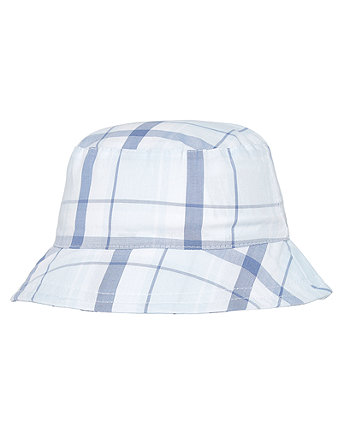 Mothercare My First Woven Checked Hat