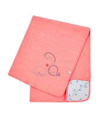 Mothercare Whale Bay Red Whale Shawl