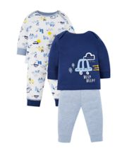 Mothercare On The Road Pyjamas - 2 Pack