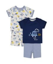 On The Road Shortie Pyjamas - 2 Pack