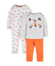 Mothercare Tiger Pyjamas - 2 Pack