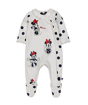 Mothercare Disney Baby Minnie Mouse All In One