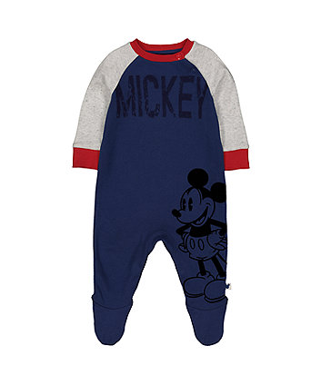 Mothercare Disney Baby Mickey Mouse All In One