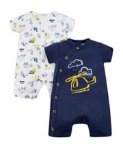 On The Road Rompers - 2 Pack