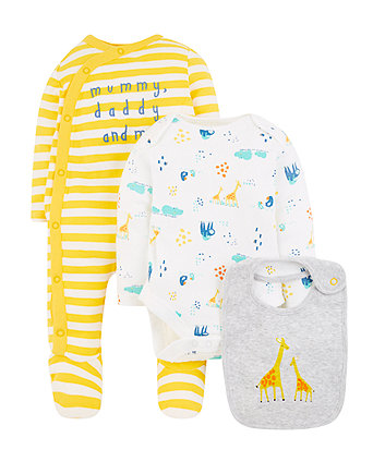 Mothercare Mummy And Daddy 3-Piece Set