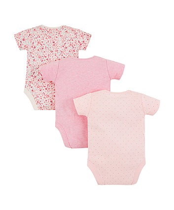 2903803bd86 mothercare mummy and daddy κορμάκια - πακέτο των 3