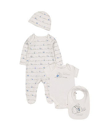 Mothercare Peter Rabbit Four-Piece Set