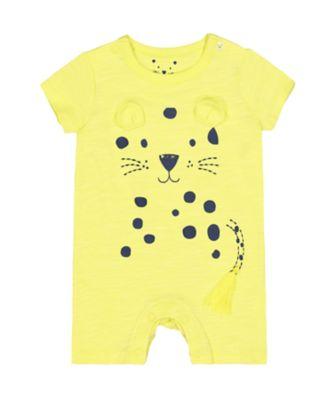 Mothercare Jungle Leopard Romper