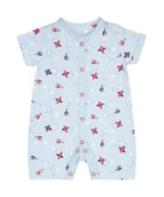 Mothercare Blue Planes Romper