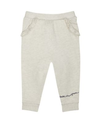 Mothercare Good Vibes Grey Frill Joggers