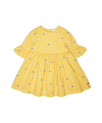 Mothercare Yellow Floral Dress