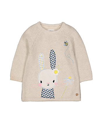 Mothercare Bunny Knit Dress