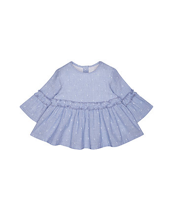 Mothercare Chambray Dobby Blouse