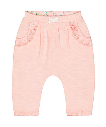 Pink Harem Trousers