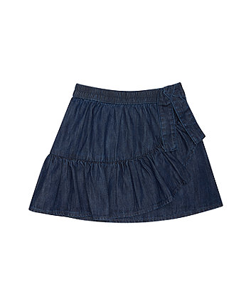 Mothercare Denim Ruffle Skirt