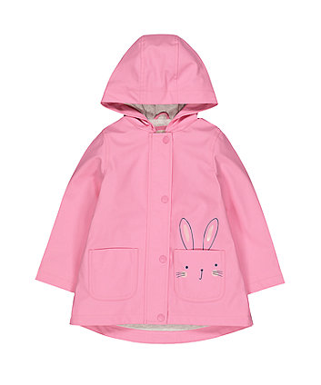 Pink Bunny Rubber Mac
