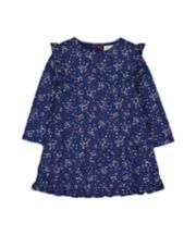 Mothercare Hearts Navy Dress