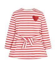 Mothercare Red Stripe Heart Dress